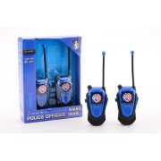 Politie walkie talkie set