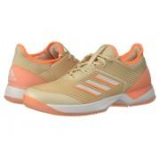 adidas Adizero Ubersonic 3 LinenFootwear WhiteFlash Orange