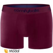 Comfyballs boxershort Wood Purple Blue long