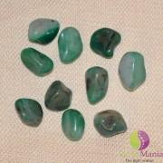 Agat verde rulat 20-25mm