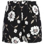Mingel Shorts, blom på svart bottenfärg (Stl: S, M, XL, )