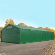 taltpartner.se Lagertält 6x16m PVC 550 g/m² mörkgrön vattentät