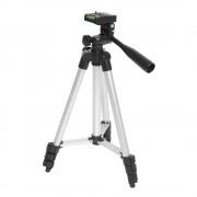 Trepied telescopic universal, max 2,5 kg (Negru)