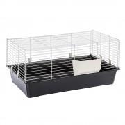 Клетка за малки животни Piggy Basic - черна: Д 95 x Ш 57 x В 46 см