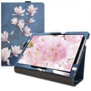 kwmobile Flipové pouzdro pro Huawei MediaPad M5 10 - šedá