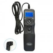 Sidande LCD control remoto disparador del temporizador para Sony A100 / A200