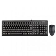 A4Tech KM-72620, комплект клавиатура & мишка, черни, USB