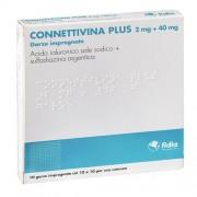 Fidia Farmaceutici Spa Connettivina Plus 2 Mg + 40 Mg Garze Impregnate 10 Garze Impregnate Cm 10 X 10