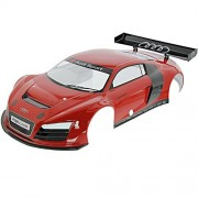 Kyosho Inferno GT2 Nitro AUDI R8 LMS RED BODY SHELL & BLACK WING Painted VE