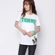 【SALE 40%OFF】トミーヒルフィガー TOMMY HILFIGER バンダナ付きロゴTシャツ (ホワイト)