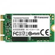 Диск Transcend 256GB, M.2 2242 SSD, SATA3, MLC, TS256GMTS400S