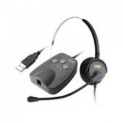Adaptador de Áudio Digital Usb para Headset ZOX DH-50