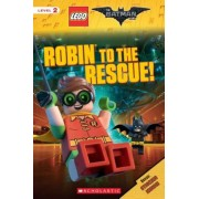 Robin to the Rescue! (the Lego Batman Movie: Reader), Paperback