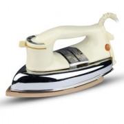 MONEX New Range Of Heavyweight Plancha 1000 W Dry Iron (Cream)