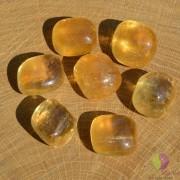 Calcit honey rulat 23-26mm