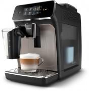 Espressor automat Philips EP2235/40, 12 setări măcinare, Ecran tactil, Carafă lapte, 15 bar, Aroma Seal, Negru/Maro auriu