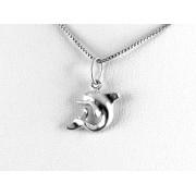 Cuki delfin ezüst medál
